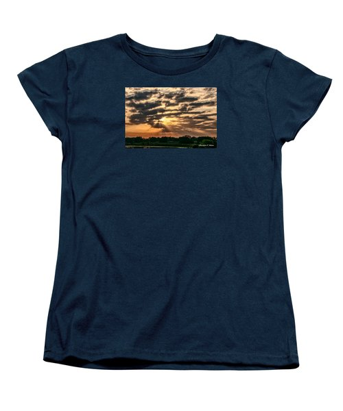 Women's T-Shirt (Standard Cut) featuring the photograph Central Florida Sunrise by Christopher Holmes