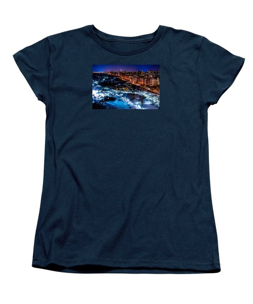 Women's T-Shirt (Standard Cut) featuring the photograph Central Park by M G Whittingham
