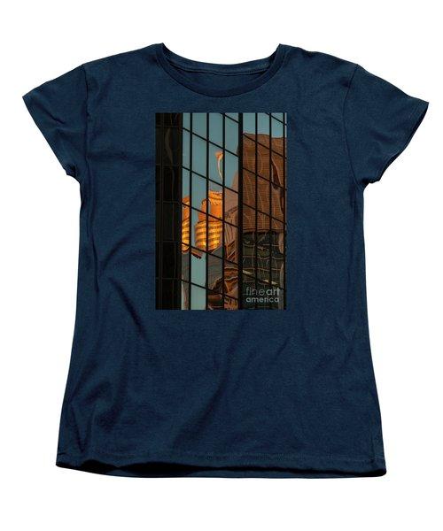 Centrepoint Hiding Women's T-Shirt (Standard Cut) by Werner Padarin