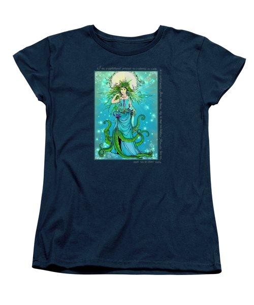 Cephalopod Princess Women's T-Shirt (Standard Cut) by Katherine Nutt