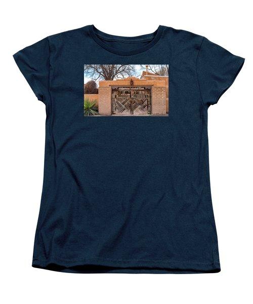 Cerrillos Gate Women's T-Shirt (Standard Cut) by Robert FERD Frank