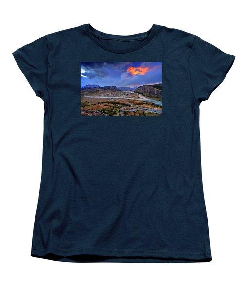 Chalten-03 Women's T-Shirt (Standard Cut) by Bernardo Galmarini