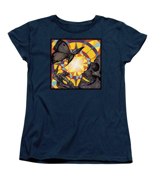 Change Mandala Women's T-Shirt (Standard Cut) by Deadcharming Art