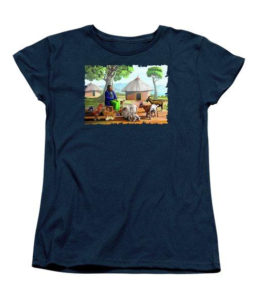 Change Of Scene Women's T-Shirt (Standard Cut) by Anthony Mwangi