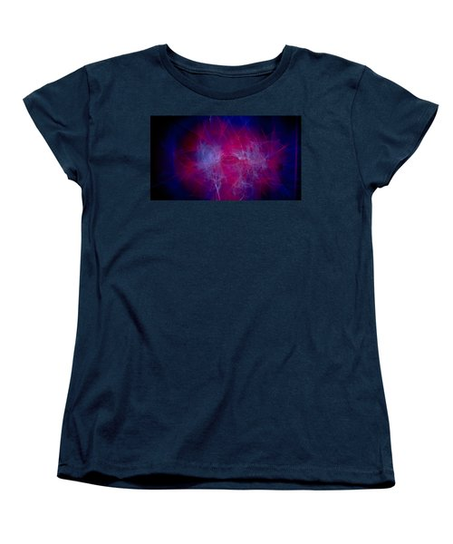 Chaos Women's T-Shirt (Standard Cut) by Hyuntae Kim