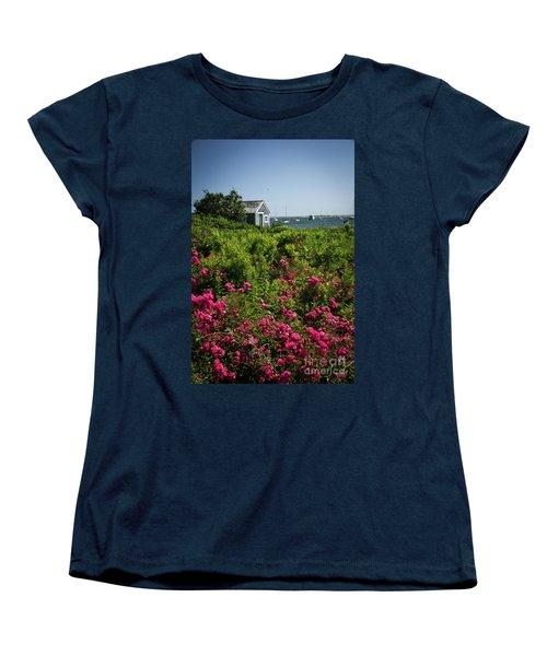 Chatham Boathouse Women's T-Shirt (Standard Cut) by Jim Gillen