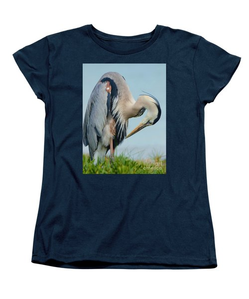 Checking Out The 'do' Women's T-Shirt (Standard Cut) by Pamela Blizzard
