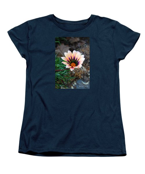 Cheerful Flower Women's T-Shirt (Standard Cut) by Debra Thompson