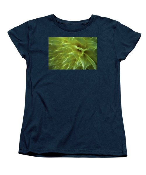 Cheery Chrysanthemum Women's T-Shirt (Standard Cut) by Joann Copeland-Paul