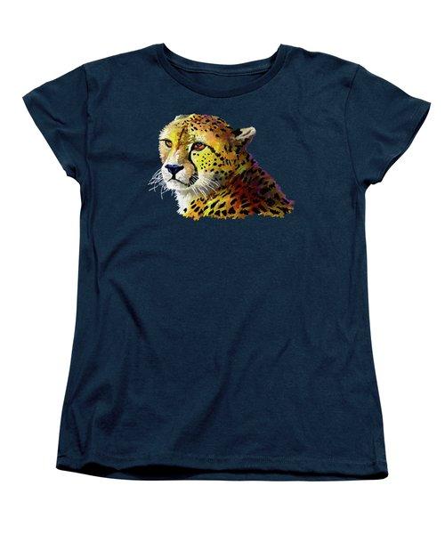 Cheetah Women's T-Shirt (Standard Cut) by Anthony Mwangi