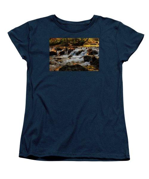 Women's T-Shirt (Standard Cut) featuring the photograph Cheyenne Canyon Autumn by Ellen Heaverlo
