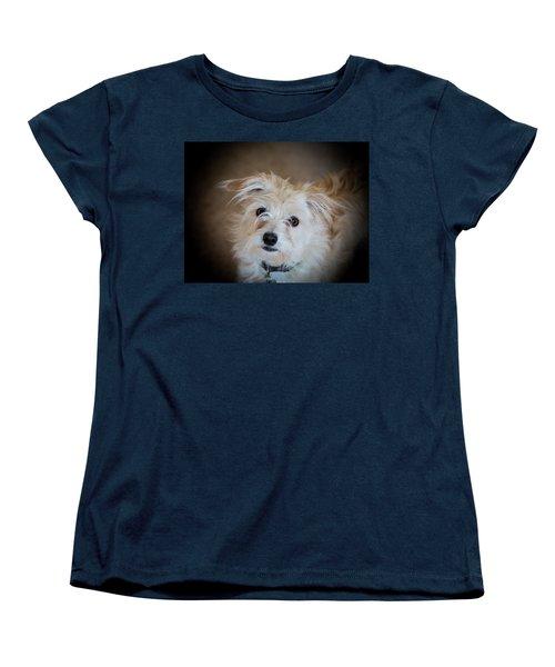 Chica On The Alert Women's T-Shirt (Standard Cut) by E Faithe Lester