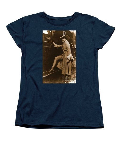 Chicago Suffragette Marching Costume Women's T-Shirt (Standard Cut) by Padre Art