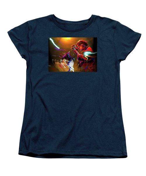 Chick Corea Women's T-Shirt (Standard Cut) by DC Langer