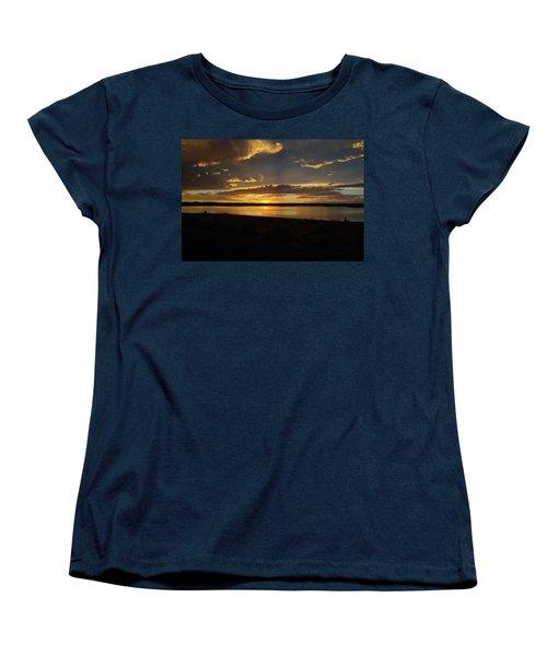 Chickahominy  Women's T-Shirt (Standard Cut) by Linda Larson