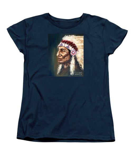 Chief Women's T-Shirt (Standard Cut) by Arturas Slapsys