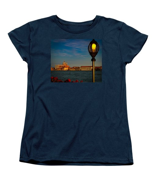 Women's T-Shirt (Standard Cut) featuring the photograph Chiesa Del Santissimo Redentore by Kathleen Scanlan
