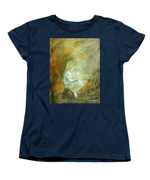 Childhood Wishes Women's T-Shirt (Standard Cut) by Terry Honstead