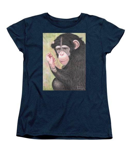 Chimpanzee Women's T-Shirt (Standard Cut)