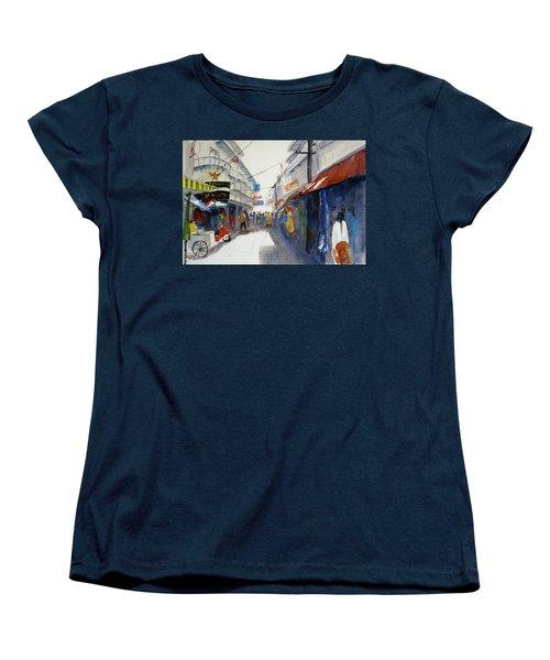 Chinatown, Bangkok Women's T-Shirt (Standard Cut) by Tom Simmons