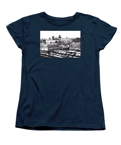 Chinatown Chicago 4 Women's T-Shirt (Standard Cut) by Marianne Dow