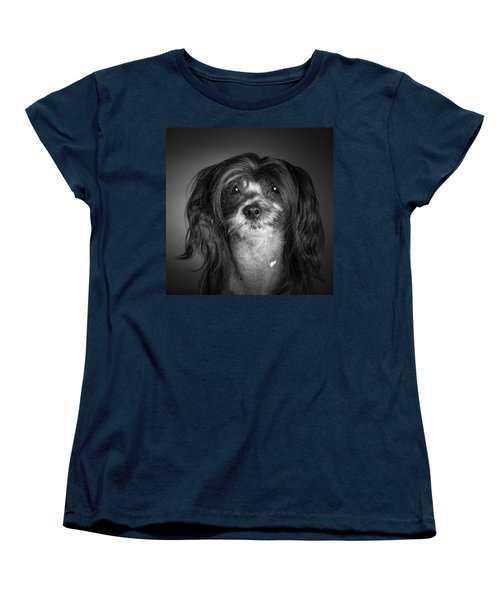Chinese Crested - 02 Women's T-Shirt (Standard Cut) by Larry Carr