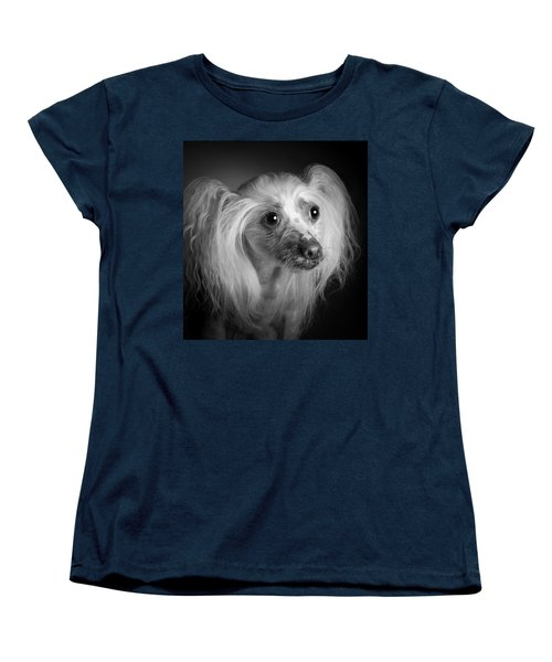 Chinese Crested - 04 Women's T-Shirt (Standard Cut) by Larry Carr
