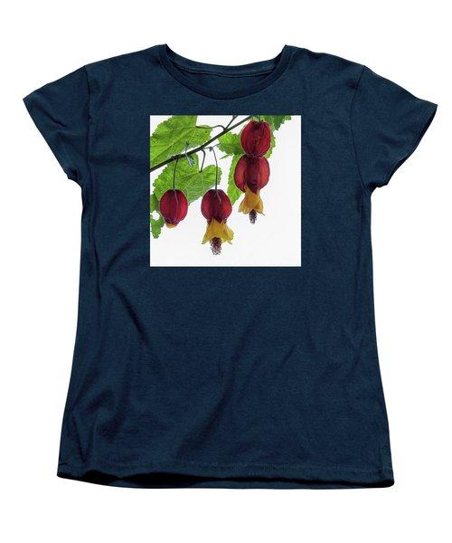 Chinese Lantern 4 Women's T-Shirt (Standard Cut) by Shirley Mitchell
