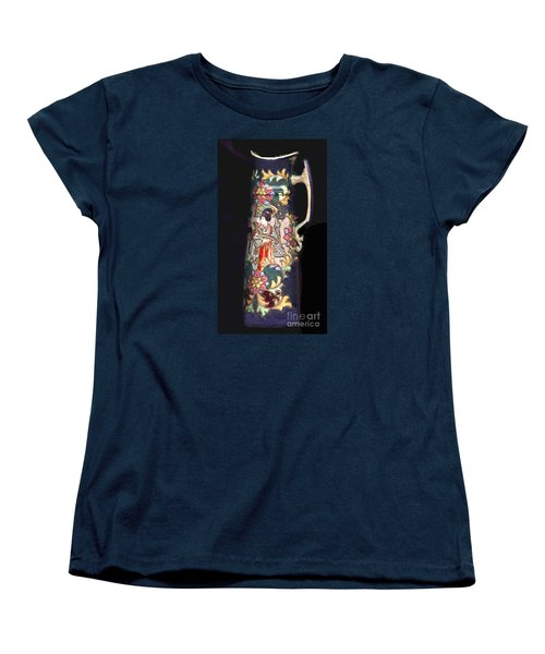 Chinese Pitcher -  More Than 100 Years Old Women's T-Shirt (Standard Cut) by Merton Allen