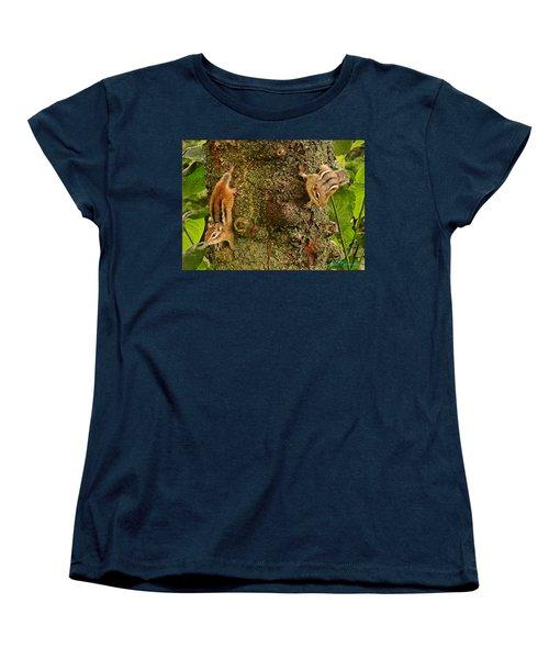 Chipmunks Women's T-Shirt (Standard Cut)