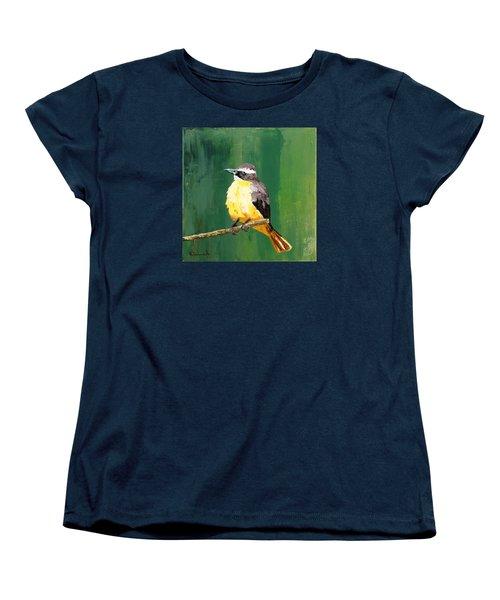 Chirping Charlie Women's T-Shirt (Standard Cut) by Nathan Rhoads