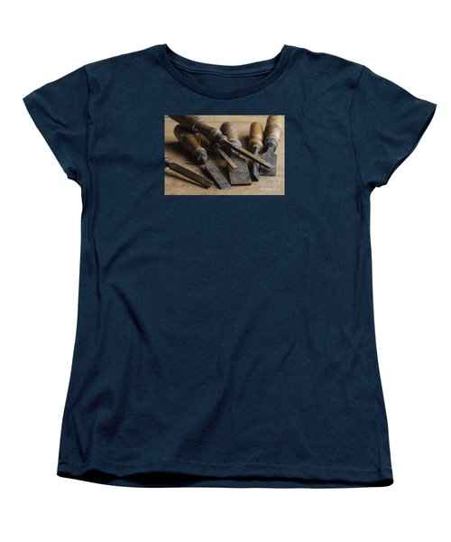 Women's T-Shirt (Standard Cut) featuring the photograph Chisels by Trevor Chriss
