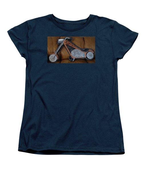 Chopper Women's T-Shirt (Standard Cut) by Val Oconnor