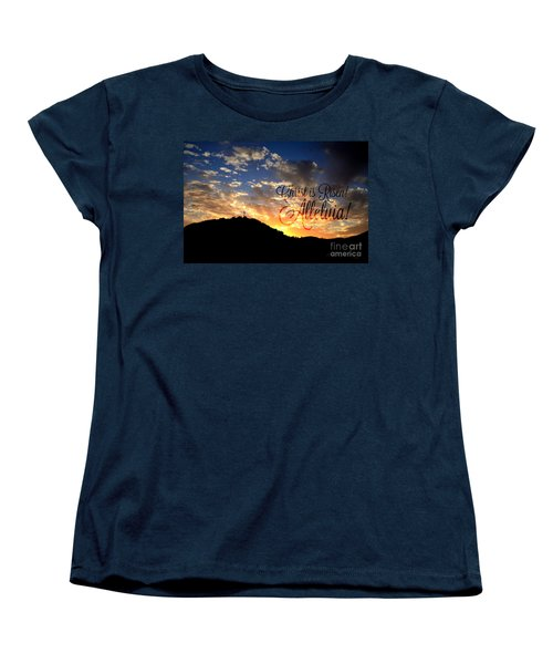 Christ Is Risen Women's T-Shirt (Standard Cut) by Sharon Soberon