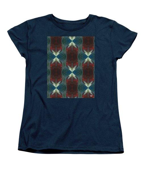 Christmas Crackers Surprise Women's T-Shirt (Standard Cut) by Maria Watt