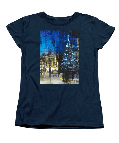 Women's T-Shirt (Standard Cut) featuring the photograph Christmas Eve by LemonArt Photography