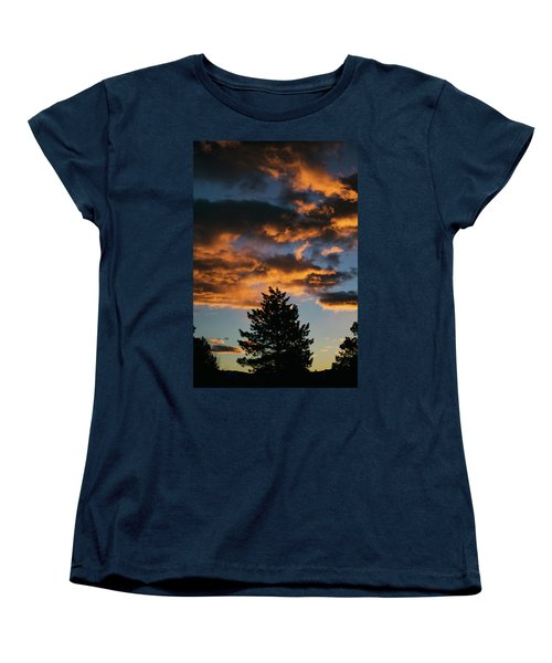 Christmas Eve Sunrise 2016 Women's T-Shirt (Standard Cut) by Jason Coward