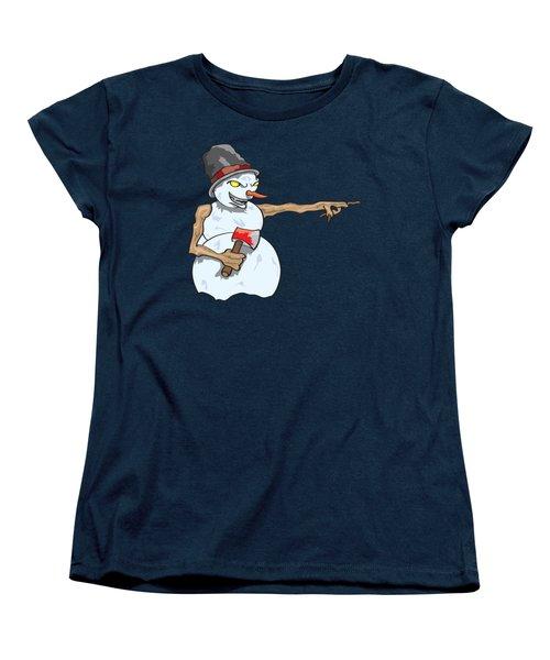 Christmas Horror Nightmares Women's T-Shirt (Standard Cut)