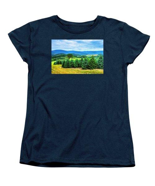 Christmas Spirit Women's T-Shirt (Standard Cut) by Dale R Carlson