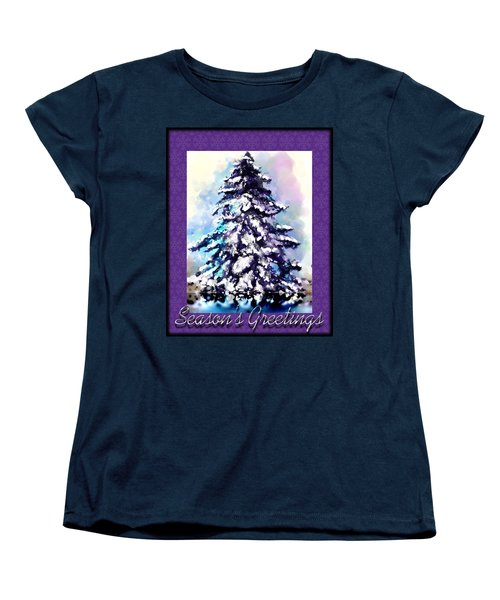 Christmas Tree Women's T-Shirt (Standard Cut)