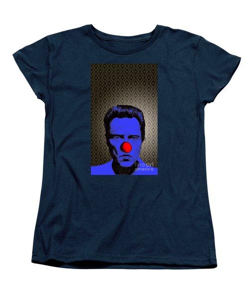 Christopher Walken 1 Women's T-Shirt (Standard Cut) by Jason Tricktop Matthews