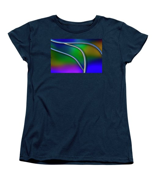 Women's T-Shirt (Standard Cut) featuring the photograph Chrome by Paul Wear