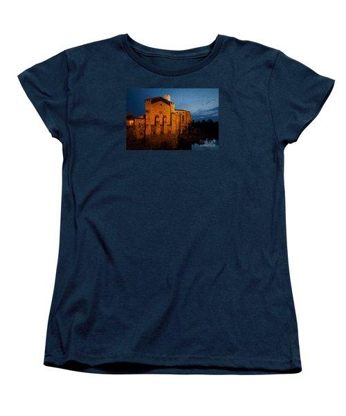 Women's T-Shirt (Standard Cut) featuring the photograph Church 1 by Jean Bernard Roussilhe