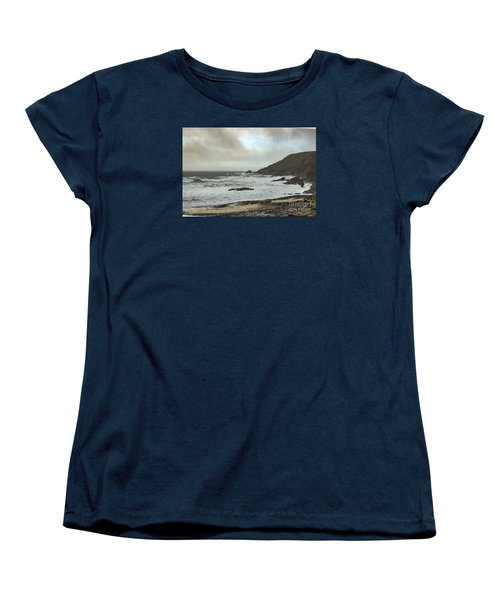 Women's T-Shirt (Standard Cut) featuring the photograph Church Cove Gunwallow by Brian Roscorla