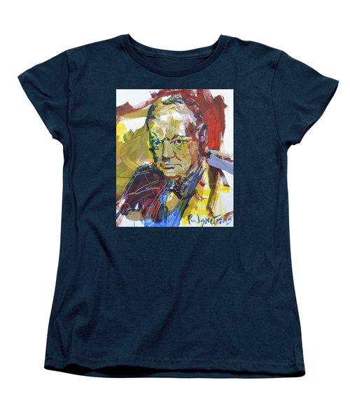 Churchill Women's T-Shirt (Standard Cut) by Robert Joyner