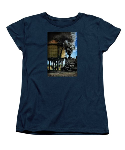 Women's T-Shirt (Standard Cut) featuring the photograph Cinders And Water by Ken Smith