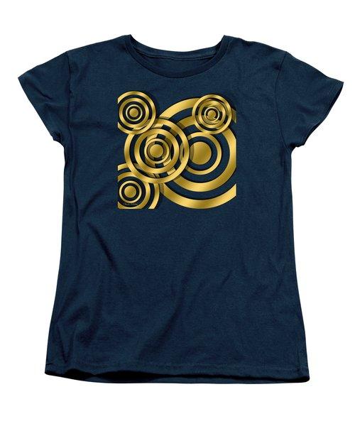 Circles - Chuck Staley Design Women's T-Shirt (Standard Cut) by Chuck Staley