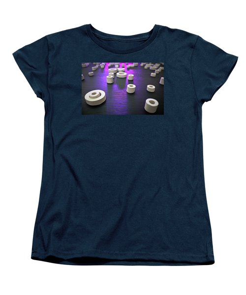 Women's T-Shirt (Standard Cut) featuring the photograph Circles Of Inspiration by Bobby Villapando