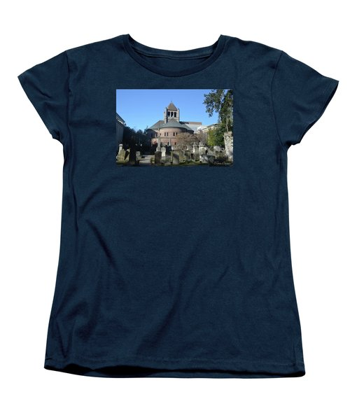 Circular Congregational Church Women's T-Shirt (Standard Cut) by Gordon Mooneyhan