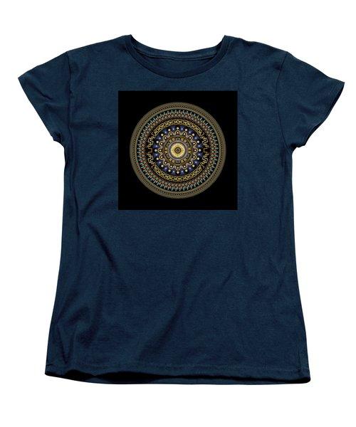 Circularium No 2643 Women's T-Shirt (Standard Cut) by Alan Bennington